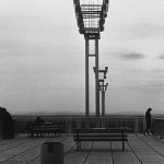 "A still image of Aéroport d'Orly, taken from ""La Jetée"" by Chris Marker"