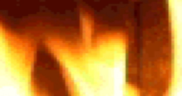 """Screenshot from experimental work """"f1r"""" - the browser as a fireplace"""