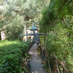 "The sculpture ""Il gendarme"" (""The policeman"") in Pinocchio Park, Collodi, Tuscany"