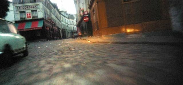 """Screenshot taken from Claude Lelouch's short movie """"C'était un Rendez-vous"""""""